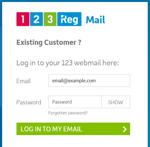 How Do I Find The Url For My 123 Reg Email Calendar 123 Reg