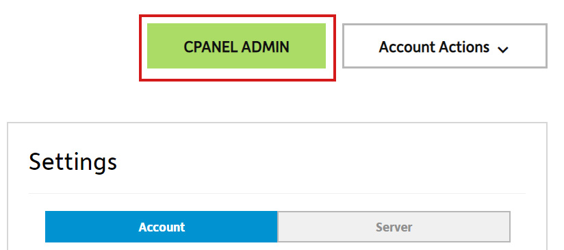 Select cPanel Admin