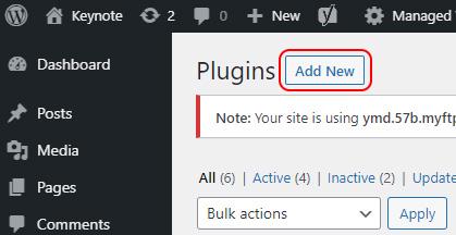 Select Add New