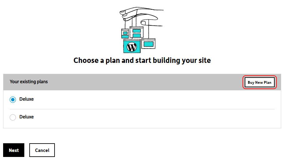 Choose or Buy Plan