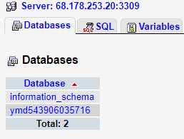 Choose relevant database