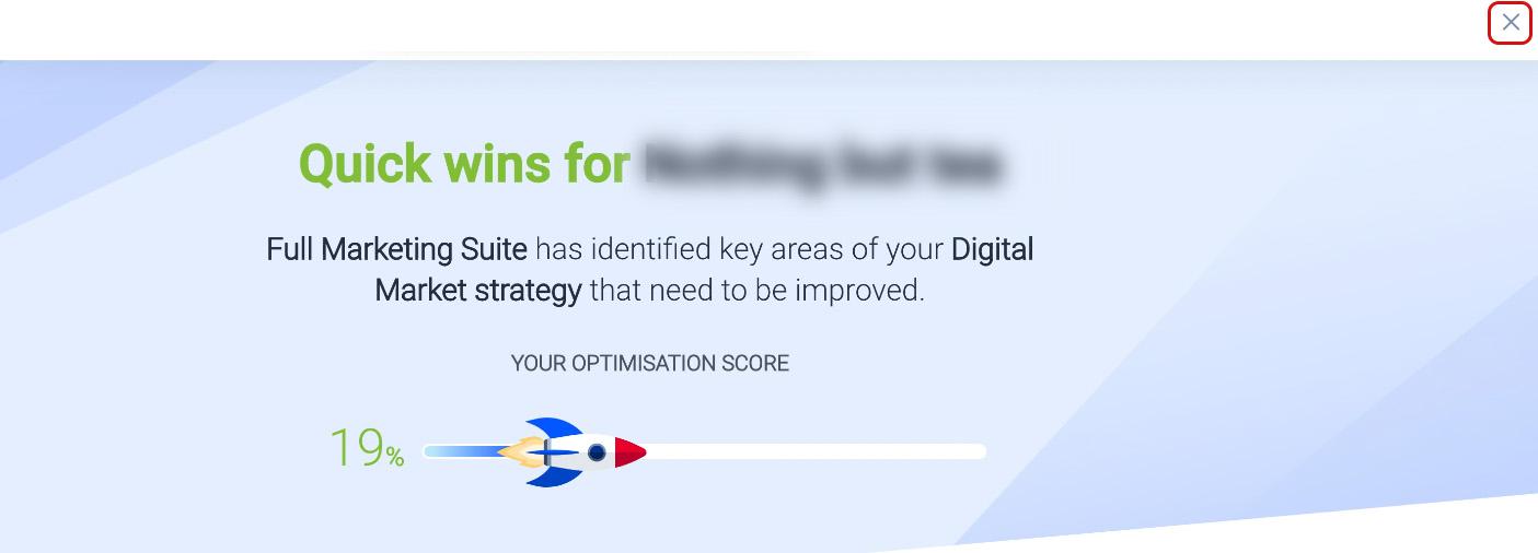 Close Optimisation Page