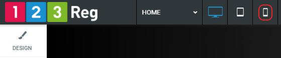 Select Mobile icon